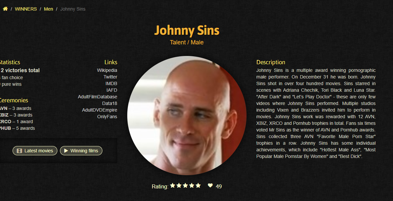 Johnny Sins