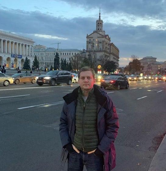 Борис Корчевников гулял по Крещатику