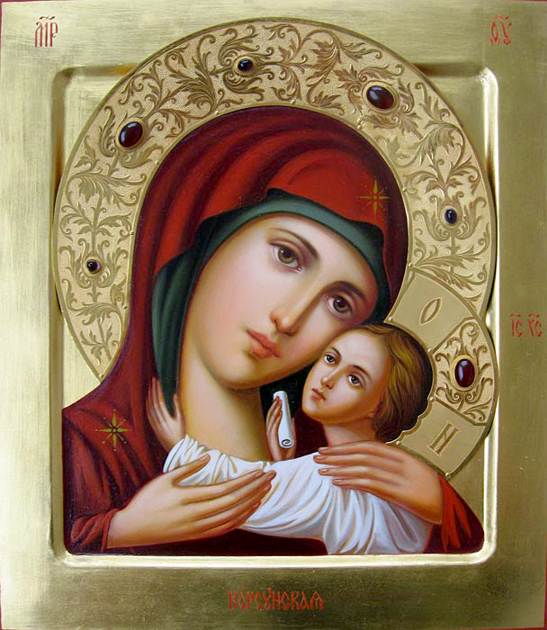 корсунская икона божией матери фото