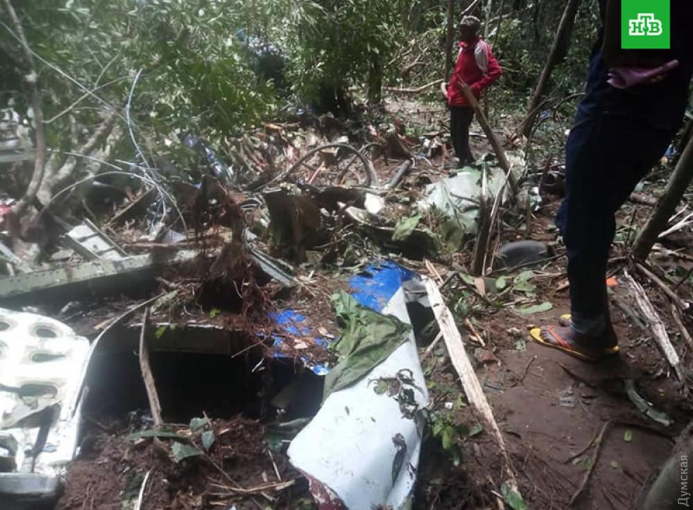 Крушение Ан-72 в Конго 11 октября