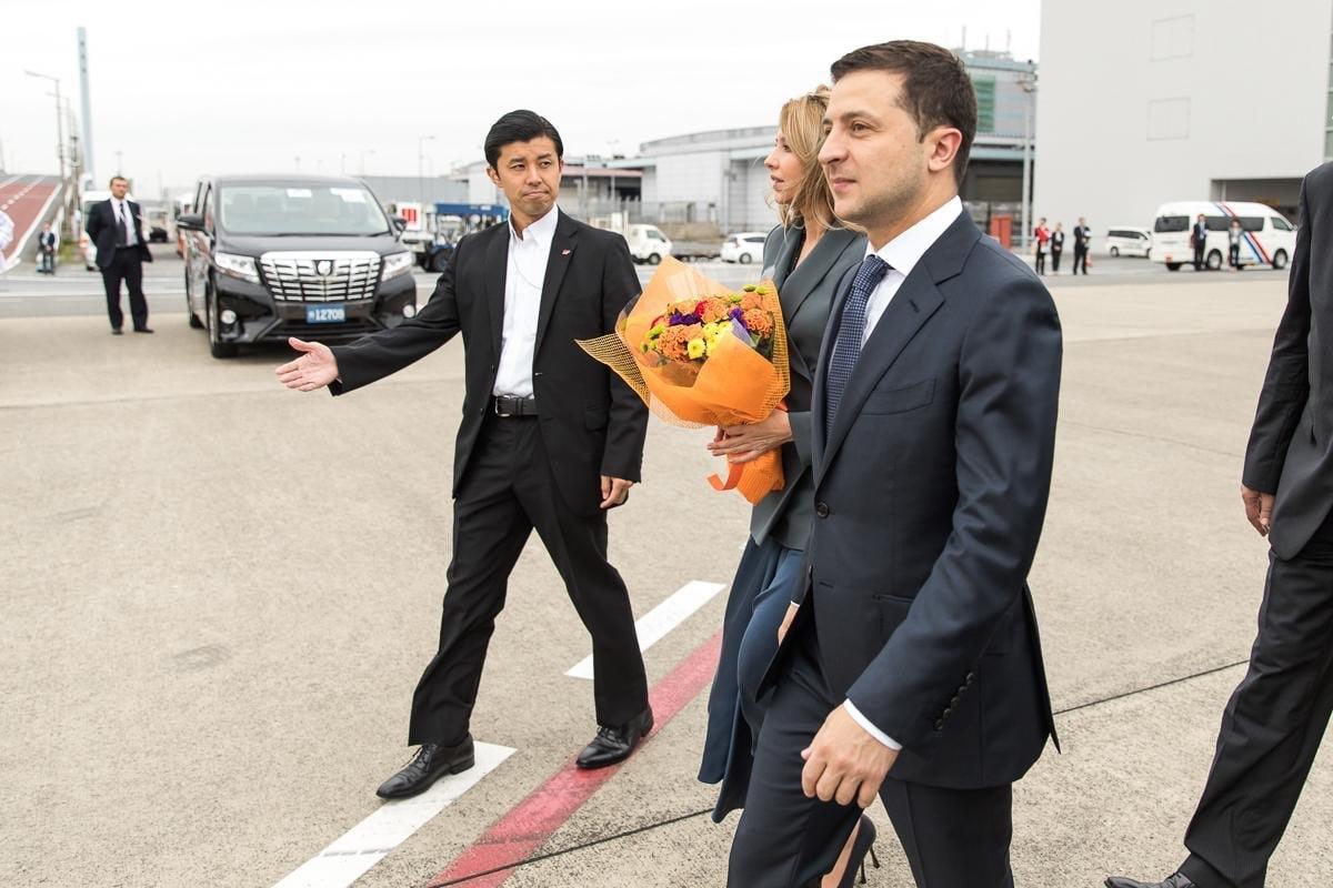 Владимр Зеленский прибыл в Японию