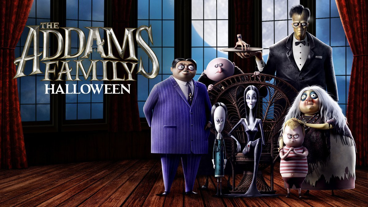 Семейка Аддамс 2019
