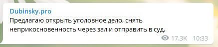 В Раде предложили завести уголовное дело на соратницу Порошенко