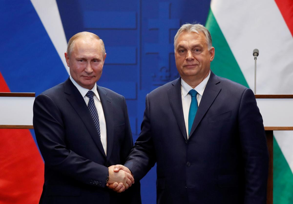 Виктор Орбан при президенте РФ лестно высказался насчет Владимира Зеленского - Зеленский новости сегодня