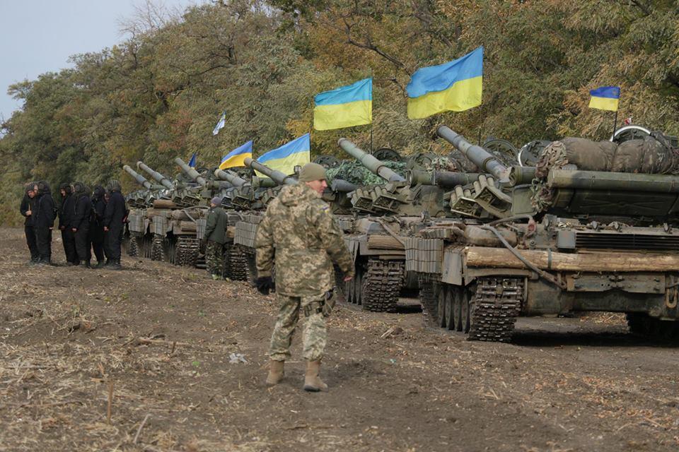 отвод сил, Донбасс