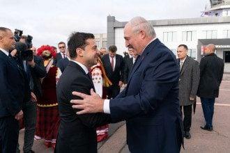 Зеленский, Лукашенко