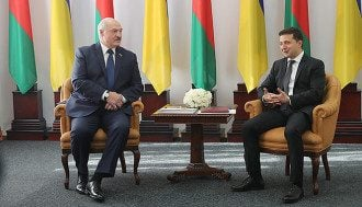 Лукашенко, Зеленский