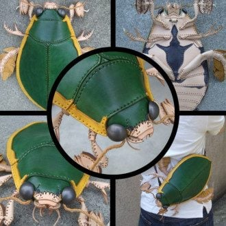 Сумки в виде насекомых выглядят очень натурально / Фото amaheso.simdif.com