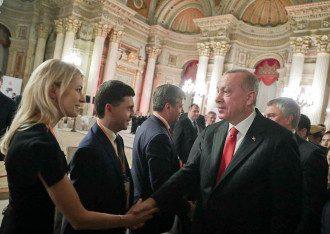 Поклонская и Бальбек с Эрдоганом