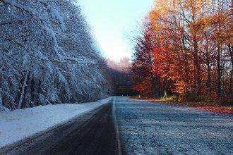 природа_осень_снег