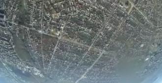 Панорама оккупированного Луганска / скриншот из видео