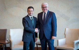 Владимир Зеленский и Франк-Вальтер Штайнмайер провели встречу  Фото president.gov.ua