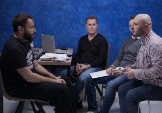 скриншот из видеоАрахамия и Дубинский проходят тест на ложь