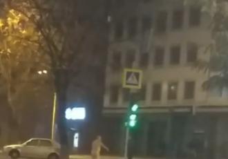 По Днепру голышом разгуливал мужчина - Новости Днепра