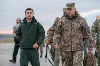 После визита президента в Золотое в Раде разгорелись нешуточные баталии / Фейсбук В.Зеленского