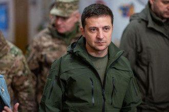 Владимир Зеленский в Золотом / Офис президента Украины