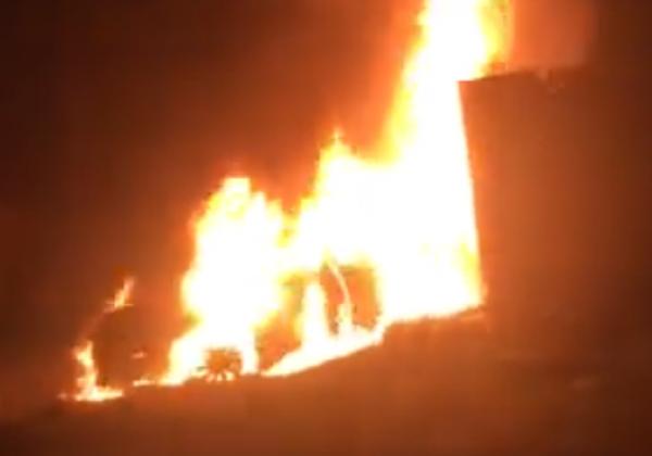 На Одесчине после ДТП загорелось и взорвалось авто с людьми