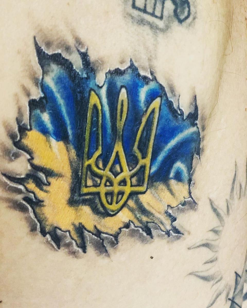 Татуировка Андреа Малдеры