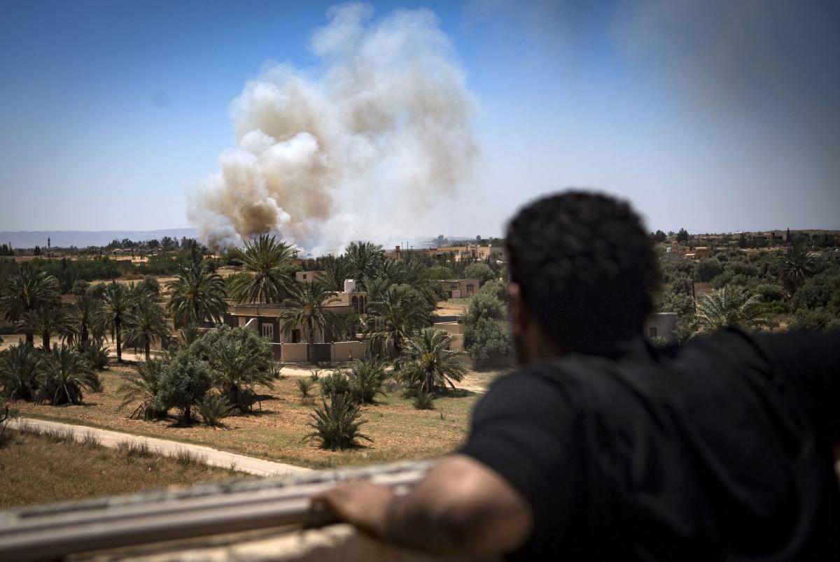 Ливия, война