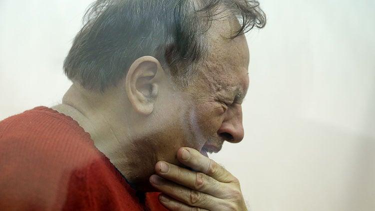Олег Сколов на суде