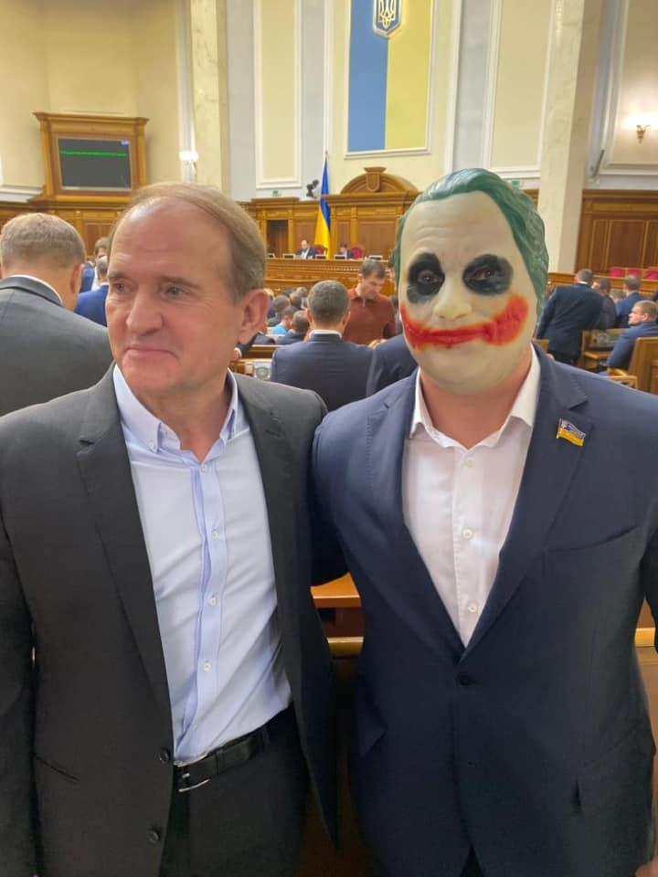Кива с Медведчуком в Раде / facebook.com/kivaillya