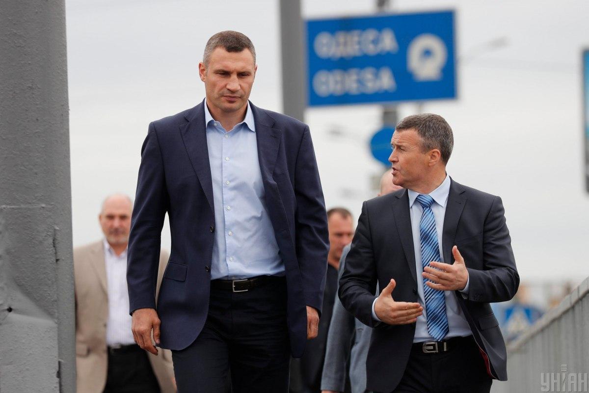 Кличко и Густелев