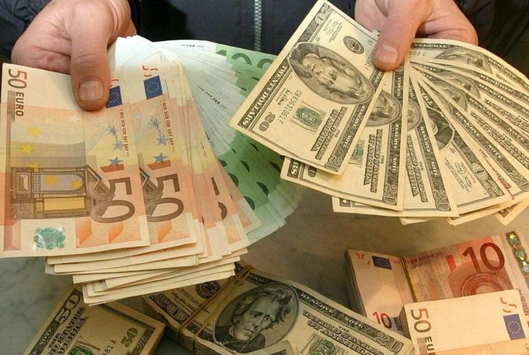 доллар, евро