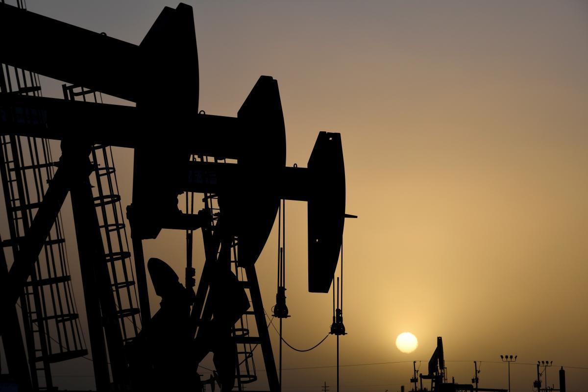 вышки, нефть