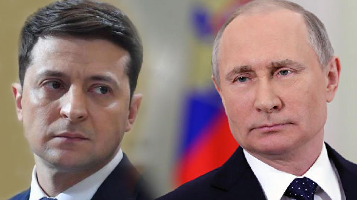 Путин Зеленский
