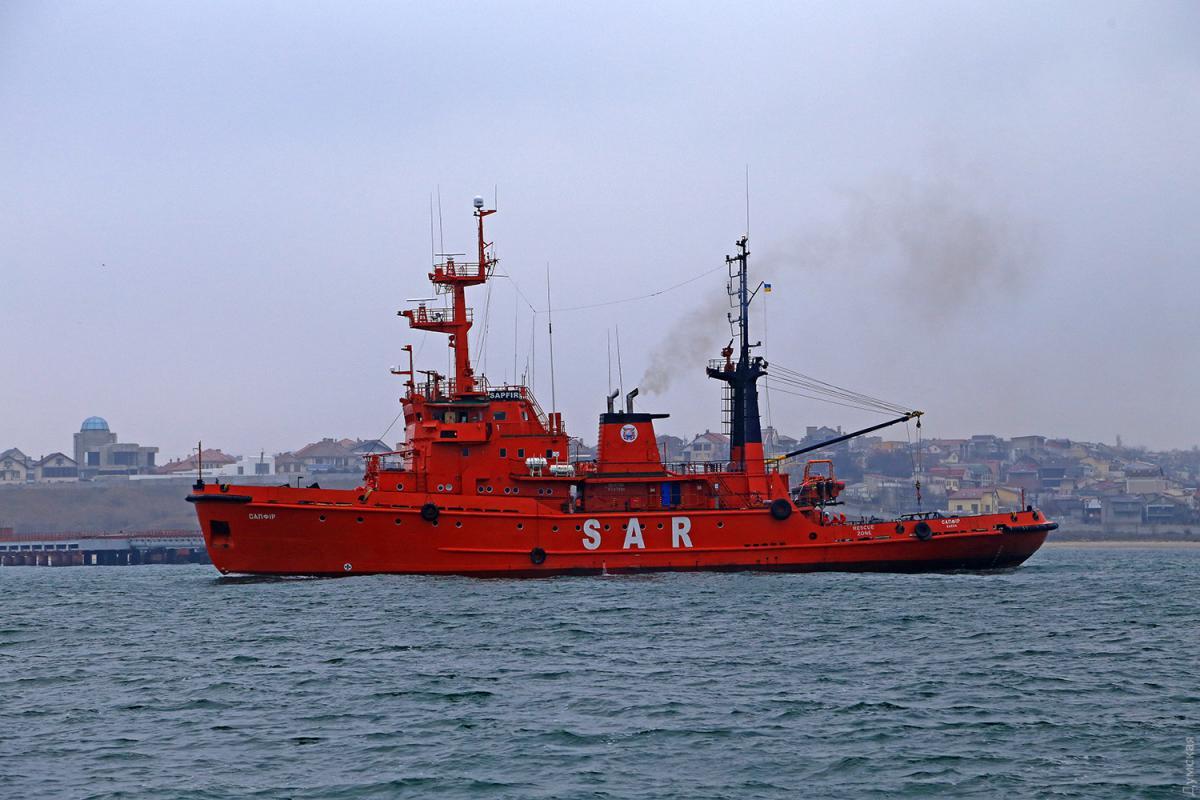 Поисково-спасательное судно Сапфир