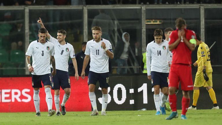 Италия уничтожила Армению в последнем туре отбора Евро-2020