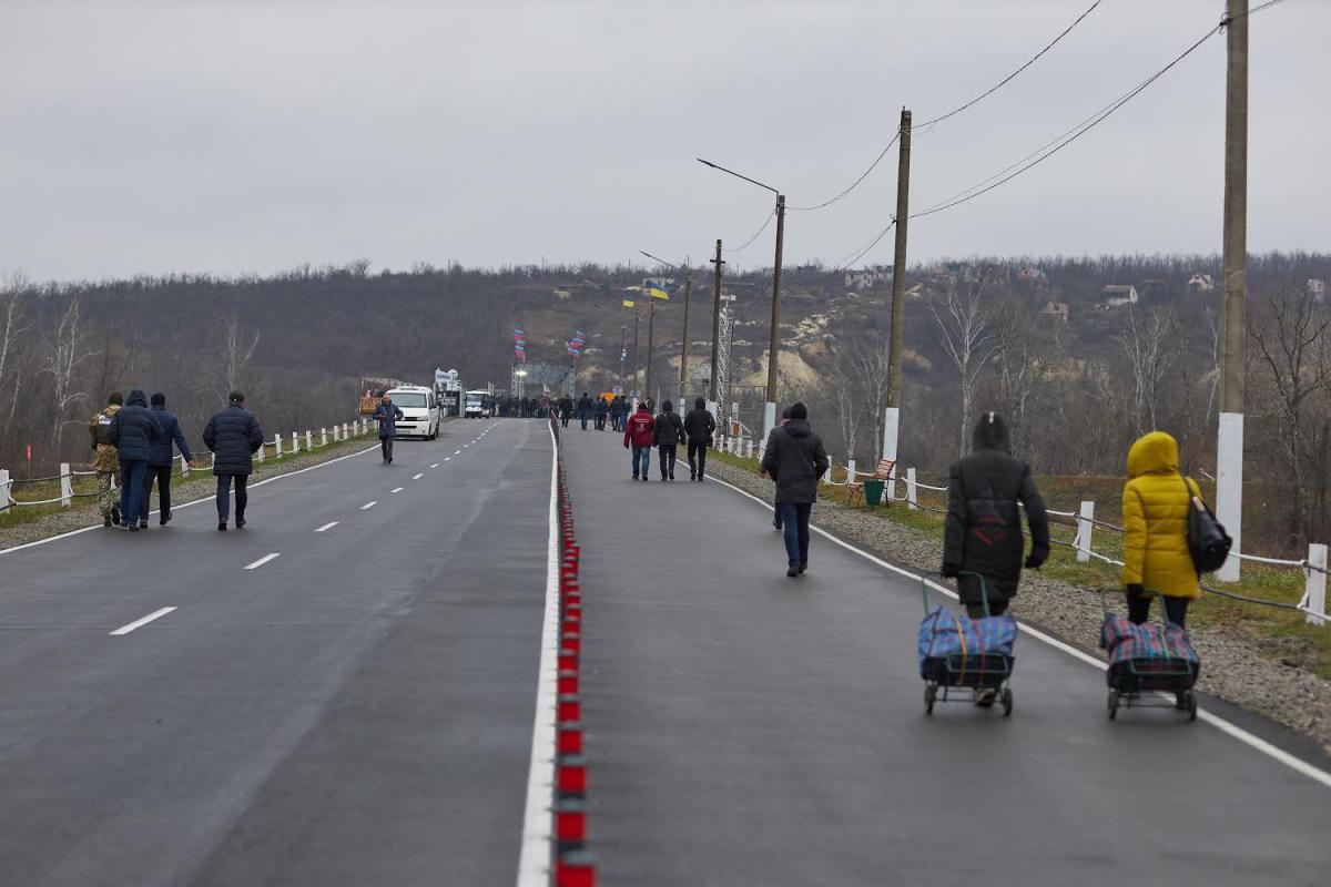 Мост в Станице Луганской