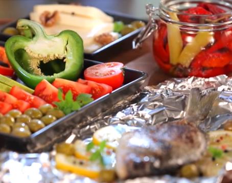 Обнародовано меню на неделю по средиземноморской диете