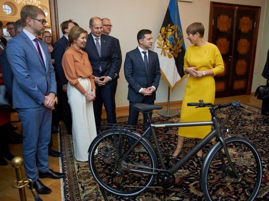 велосипед Зеленского