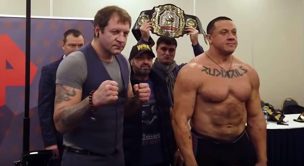 Федор Емельяненко и Михаил Кокляев