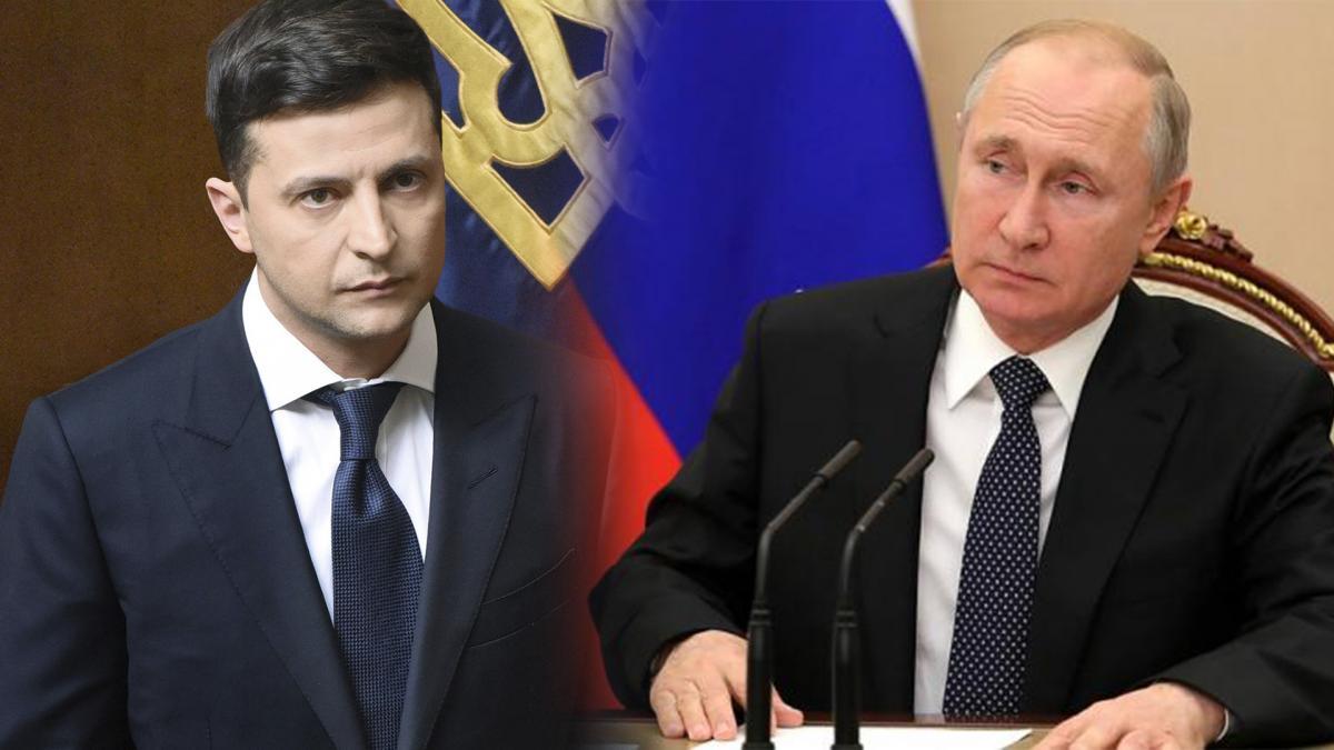 Владимир Зеленский и Владимир Путин