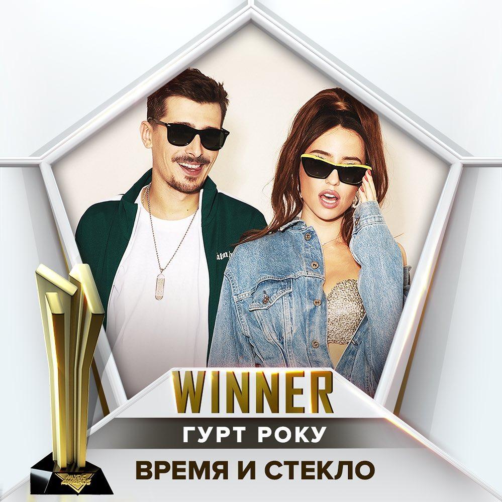 M1 Music Awards 2019 Время и Стекло