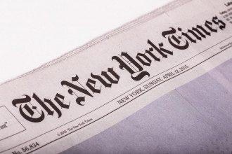 The New York Times отобрала Крым у Украины