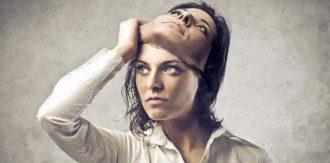 женщина, маска, психопат, психология