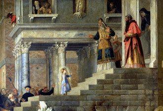 Введение во храм Пресвятой Богородицы 2019 – дата, молитвы, что за праздник в декабре 2019 - Введение во храм Пресвятой Богородицы. Тициан