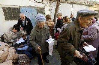 пенсионеры, Донбасс