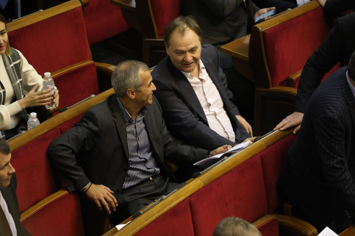 Владимир Кальцев и Александр Пономарев