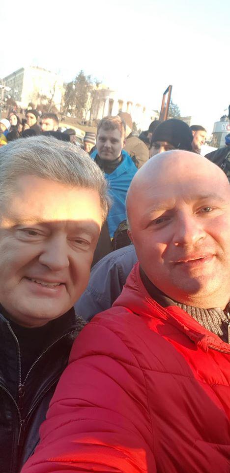 Порошенко прибыл на Майдан