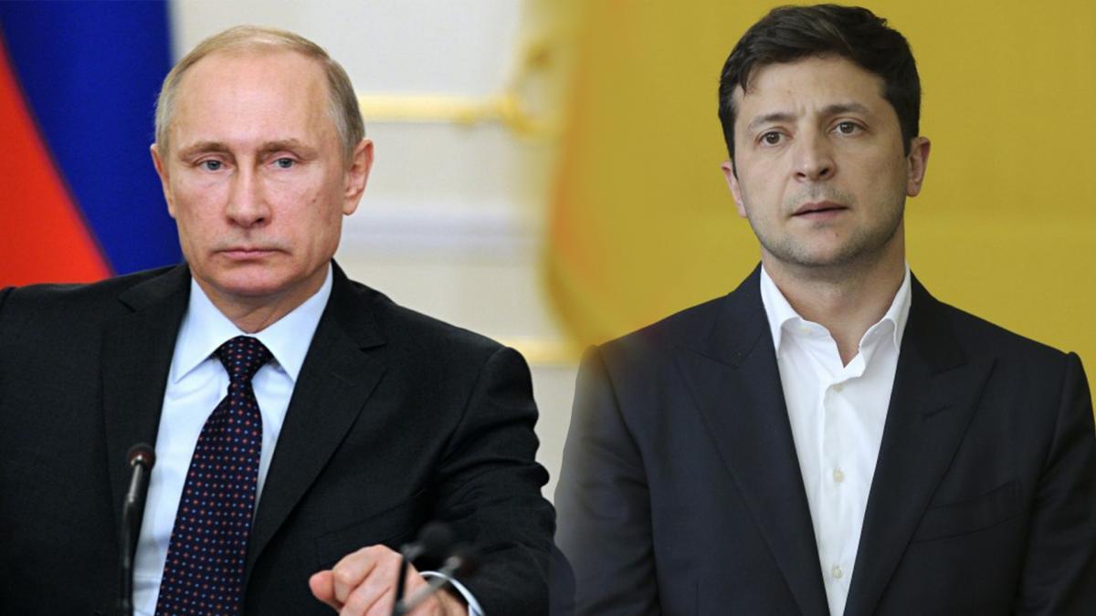 Путин, Зеленский