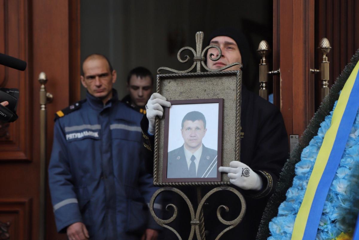 Похороны Сергея Шатохина