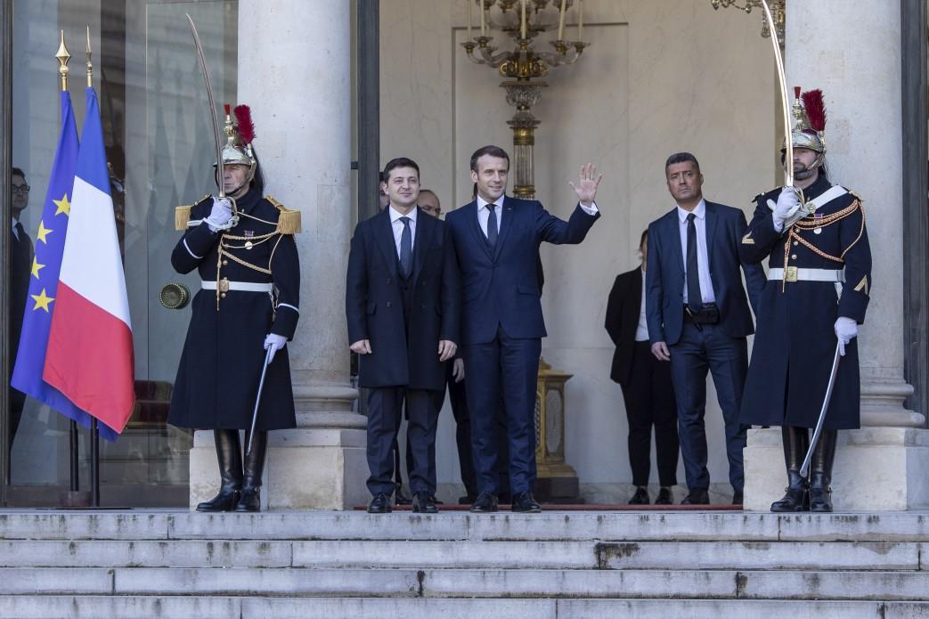 В Париже собрались лидеры нормадской четверки