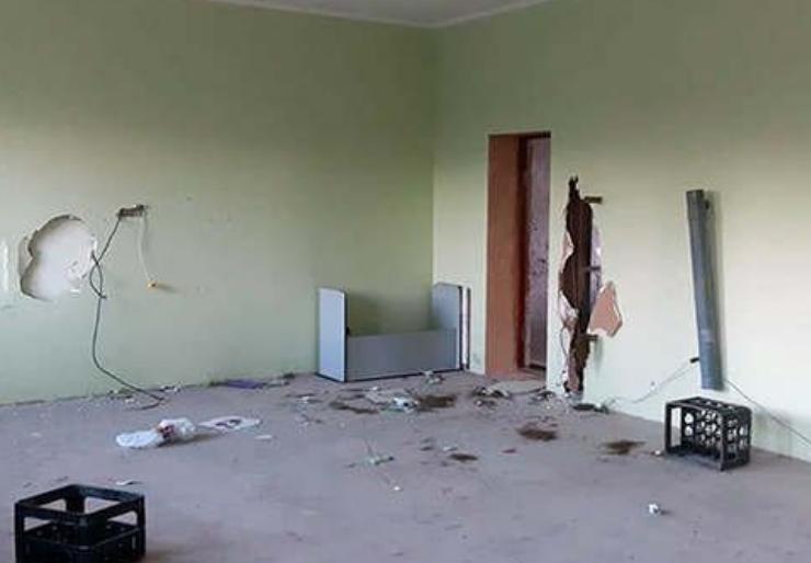 Погром в детском центре в Севастополе