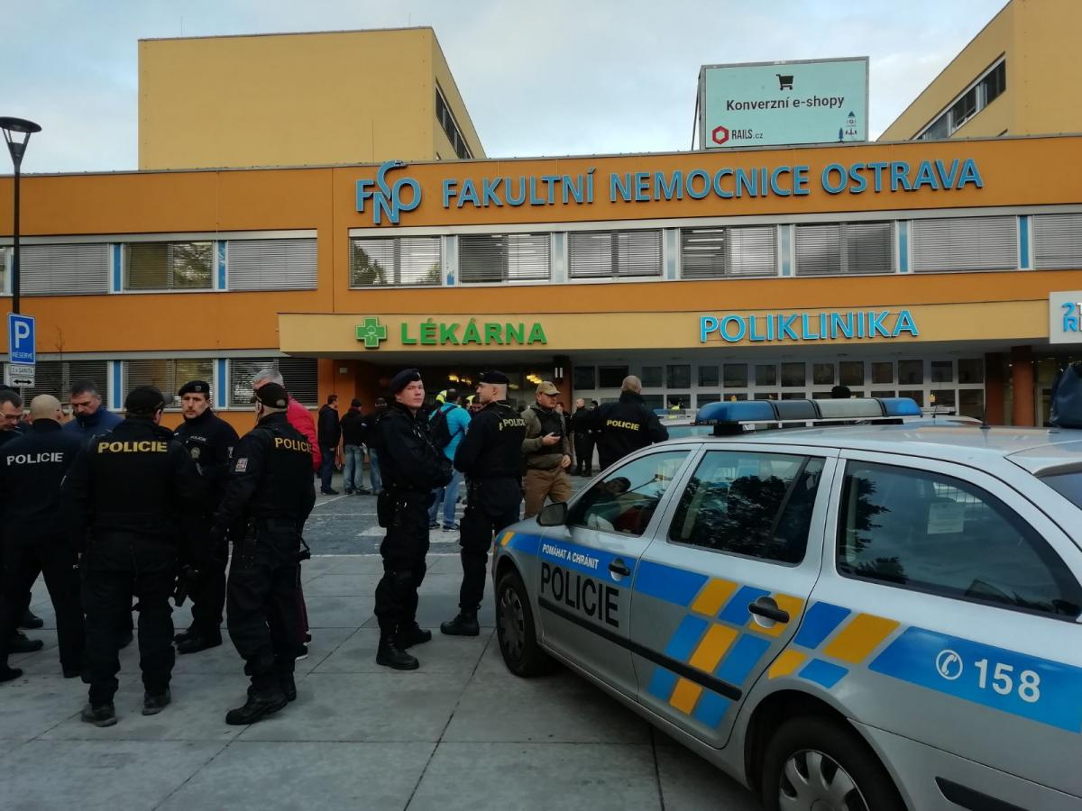 В Чехии произошла стрельба в больнице. Погибли шесть человек