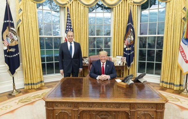 Встреча Трампа и Лаврова