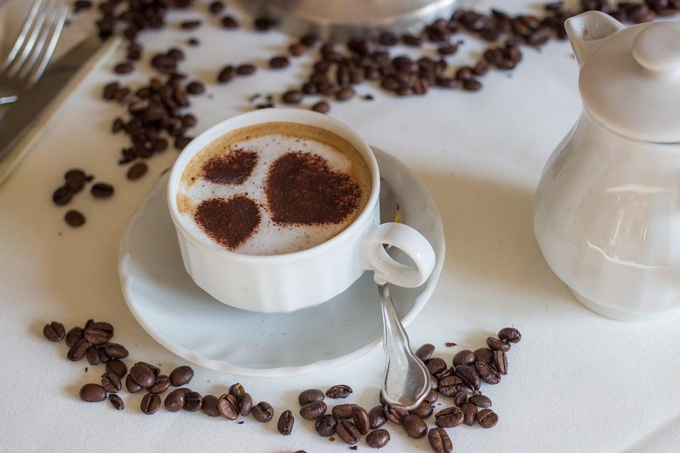 кава, кава з молоком